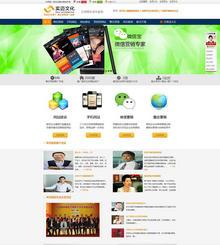 营销类网站织梦模板