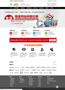 网络营销咨询培训及技术服务机构公司模版