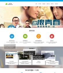 HTML5高端网络服务机构网站模板