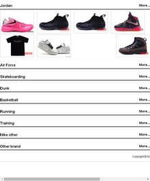 英文品牌鞋子网站织梦源码