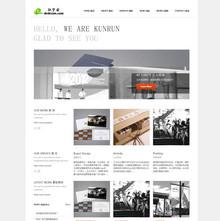 大气通用广告设计类公司网站模板