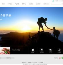 织梦高端大气金融投资公司网站模板