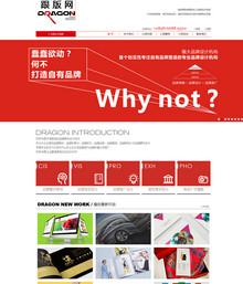 简洁大气品牌广告设计类企业公司