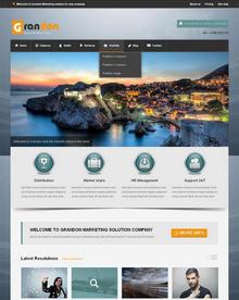 大气的旅游公司网站模板-html5响应式模板下载
