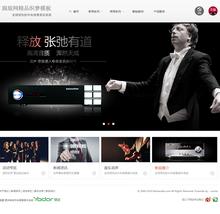 中英中央背景音乐解决方案企业网站带手机站