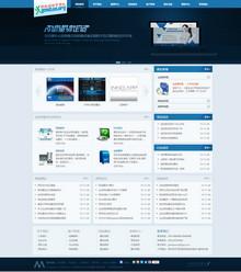 网络设计建设服务类公司网站免费分享