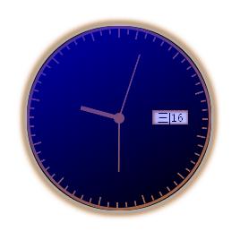 js css3圆形时钟带星期和日期时钟代码