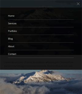 html5手机端点击下拉菜单动画过渡效果