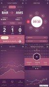 粉色酷炫的社交软件APP界面PSD设计模板