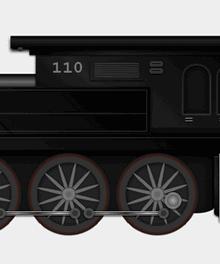 纯css3绘制行驶火车动画特效