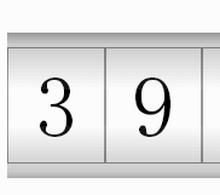 jQuery数字上下翻滚抽奖机代码