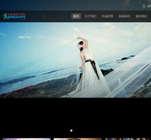 织梦黑色简洁婚纱摄影类企业整站模板