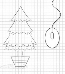 html5鼠标滚动植树生长动画特效