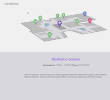 html5 svg制作交互式3D商场地图特效