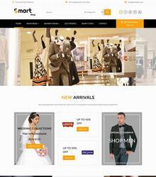 国外bootstrap网上服装购物商城