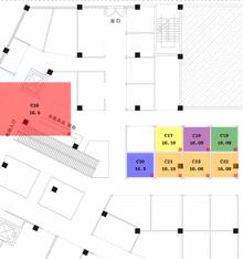 jQuery实现平面图区域标记拖拽移动效果