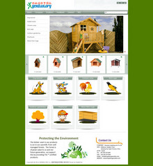 中英双语宠物家具等竹木工艺品织梦cms网站