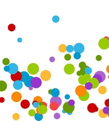 html5 canvas炫彩运动小球动画特效
