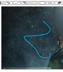 html5 canvas仿ps在线编辑涂鸦画板功能