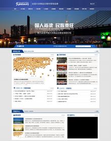 大宗商品现货交易市场网站织梦模板