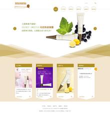 织梦dedecms精品化妆品公司网站模板