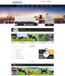 家政搬家服务行业织梦PC+手机网站模板