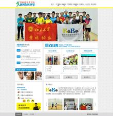织梦大气壁球培训机构网站模板