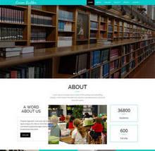 html5宽屏教育培训公司网页模板
