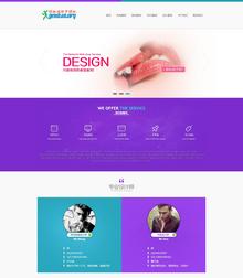 html5设计高端IT企业建站类企业
