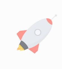 纯css3绘制飞行火箭动画特效