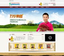 织梦红枣干果等食品类公司企业产品展示网站模板