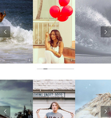 html5响应式全屏图片按钮控制幻灯片切换效果,可用于自适应网站