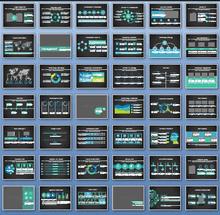 黑色大气的软件公司介绍动画ppt模板