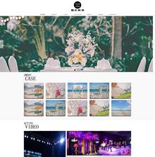 婚庆婚礼策划婚纱摄影类网站织梦模板(带手机端)