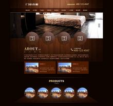 木材门业木板类织梦网站模板(带手机端网站)