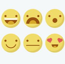 纯css3绘制符号表情动画特效
