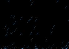 html5 canvas下雨动画特效