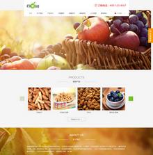 中英双语果园水果订购类网站织梦模板(带手机端)
