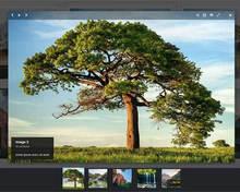 jquery lightbox图片画廊插件弹出幻灯片播放效果
