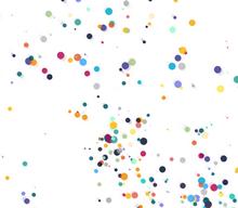html5 canvas彩色雨点动画特效
