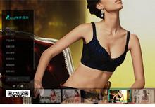 响应式内衣服饰服装类织梦模板(