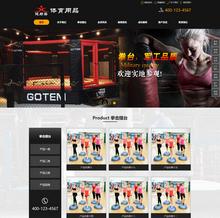 dedecms织梦营销型体育健身用品器材类模板带手机端