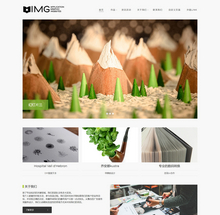 织梦CMS响应式VI产品包装设计类企业网站模板
