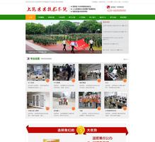 职业学院学校类网站织梦模板(带手机端)