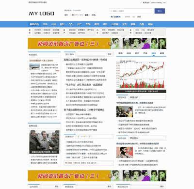 新闻资讯门户类网站源码带手机端网站(可做站群)