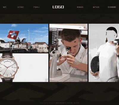 响应式手表名表销售展示类网站网站模板(自适应手机端-带购物车订单管理支付功能)