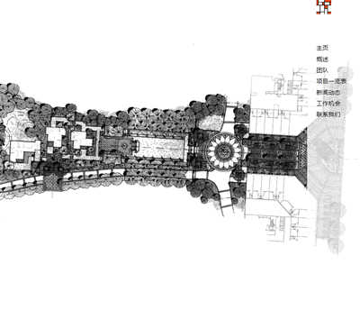 别墅设计庭院设计园林设计室内设计公司展示类网站源码