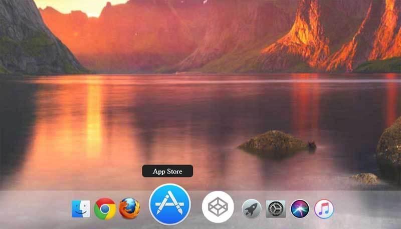 css3仿mac电脑桌面Dock工具栏菜单代码