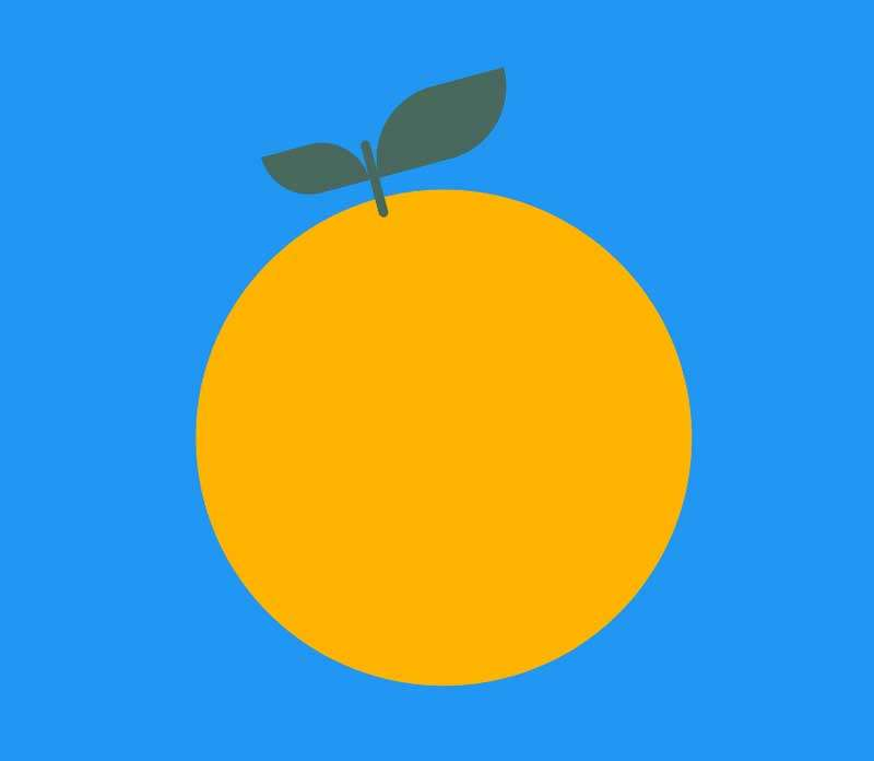 橙子蓝莓开关切换特效