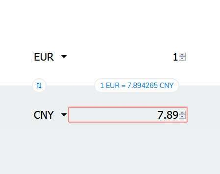 js汇率计算器代码